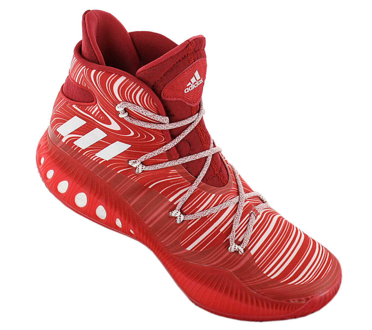 Details about Adidas Crazy Explosive Boost Men's Basketball Shoes B42420 Red Sports Shoes New