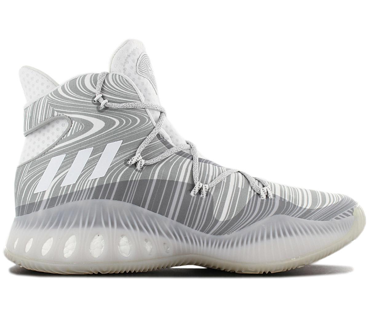 Details zu adidas Crazy Explosive Boost Herren Basketballschuhe B42424 Grau Sportschuhe NEU