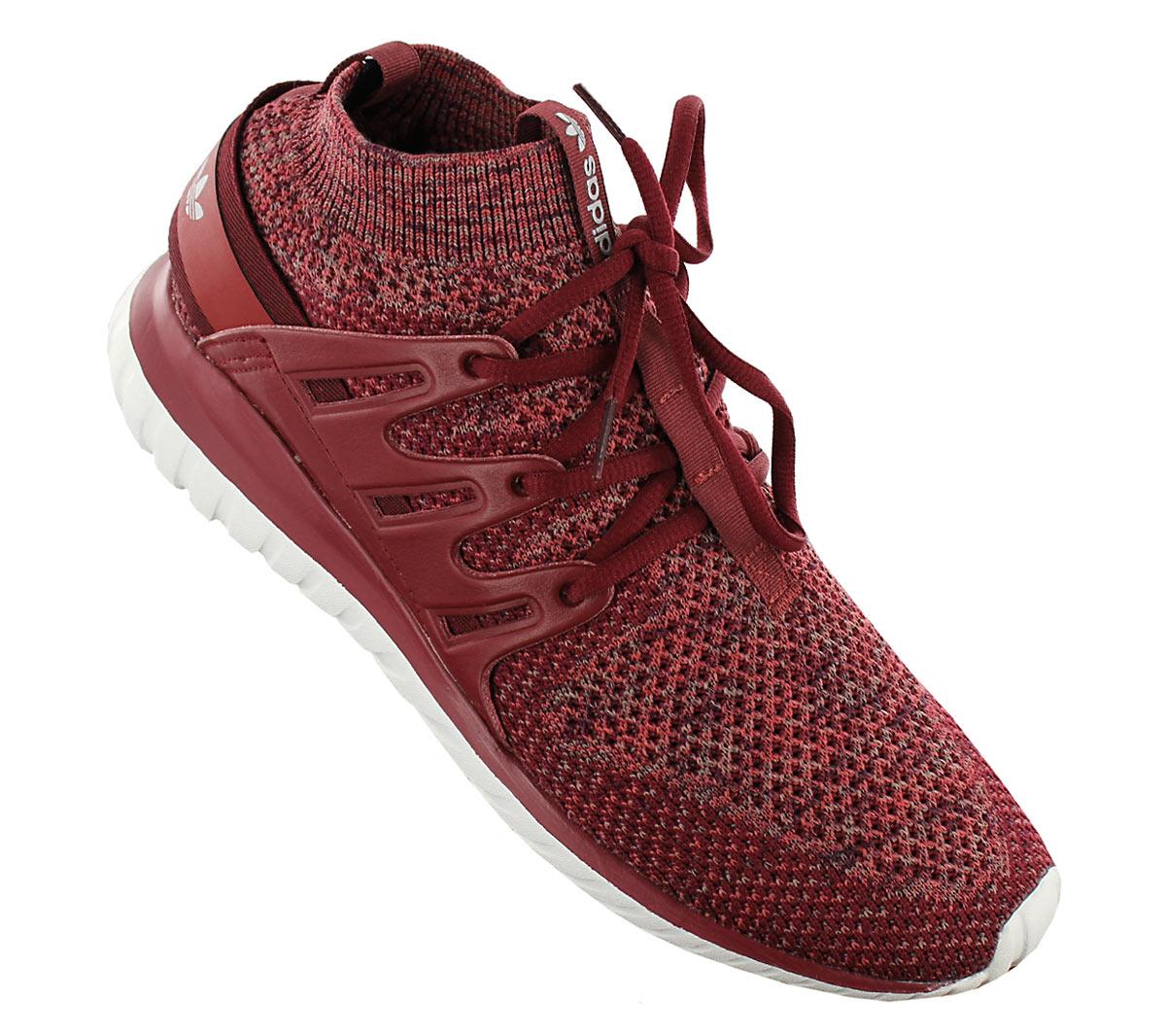 Details about Adidas Originals Tubular Nova Pk Primeknit Textile Shoes Sneaker Red BB8406 New