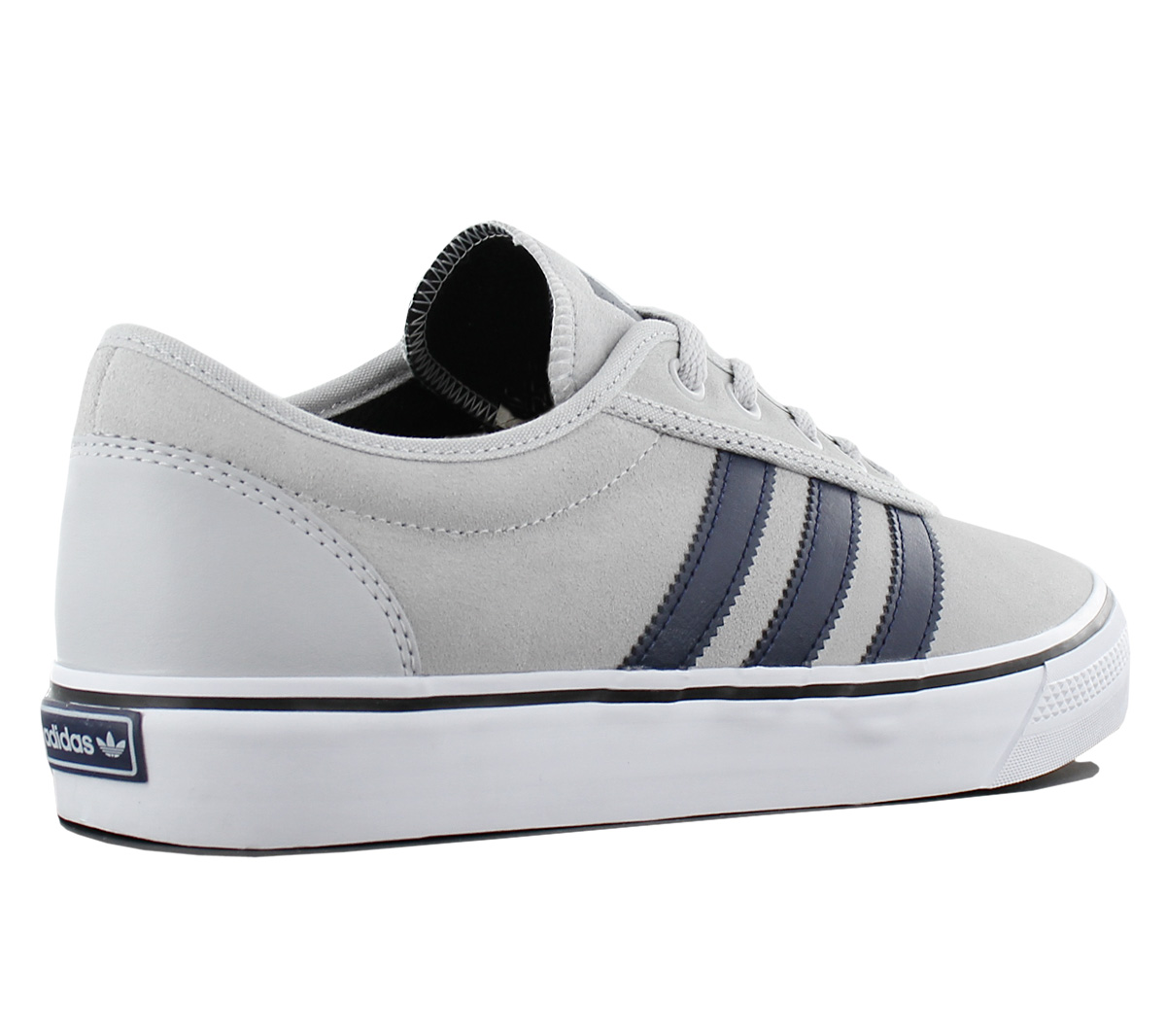 Details zu adidas Originals Adi Ease Herren Sneaker Schuhe Leder Grau Skaterschuhe BB8475