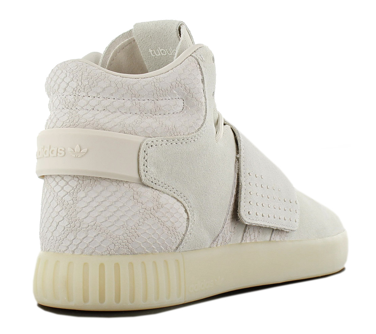 Adidas Originals Tubular Invader Strap Men s Sneakers Shoes Leather ... 5c2e6a43c