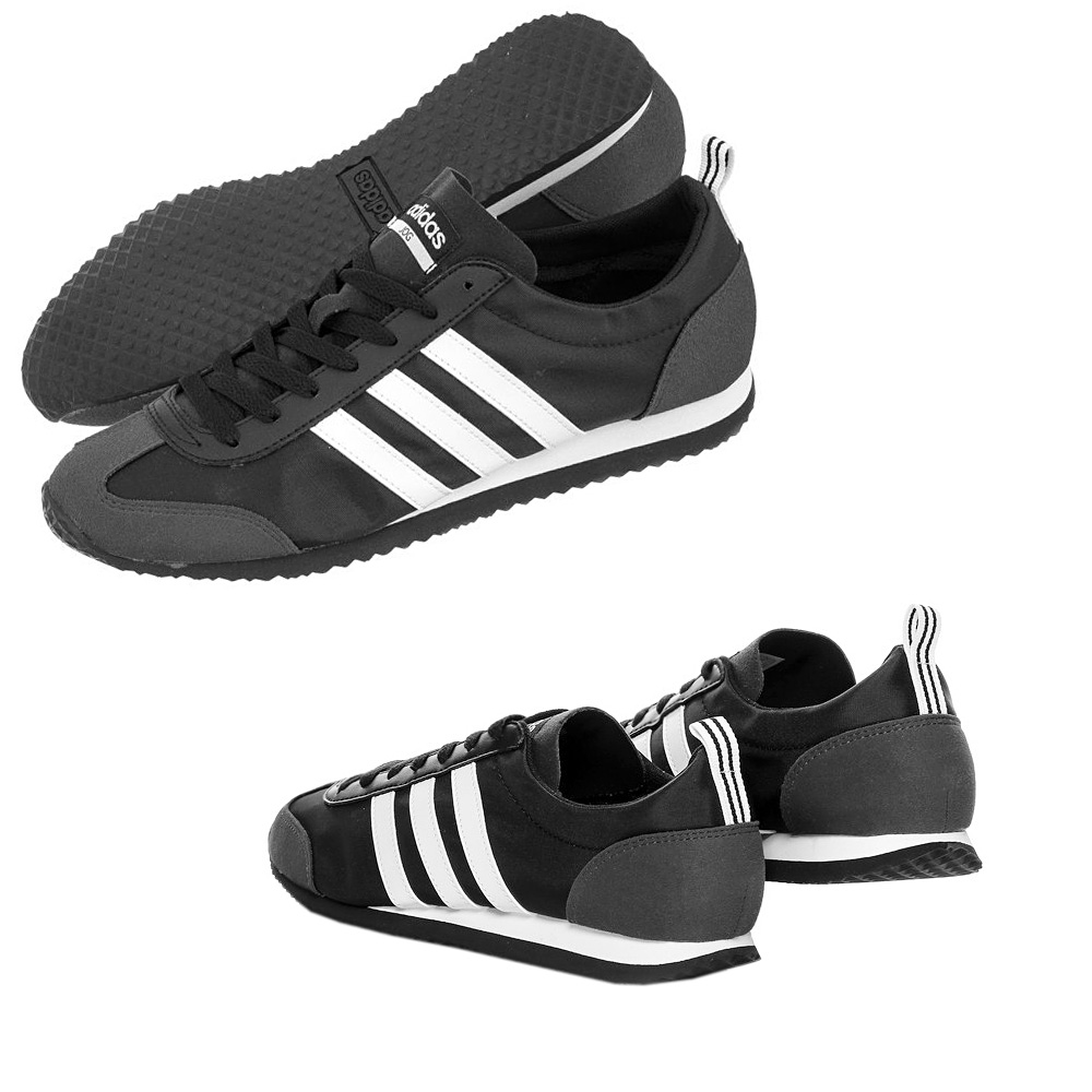 adidas herren schuhe jogger vs sneaker schwarz turnschuhe. Black Bedroom Furniture Sets. Home Design Ideas