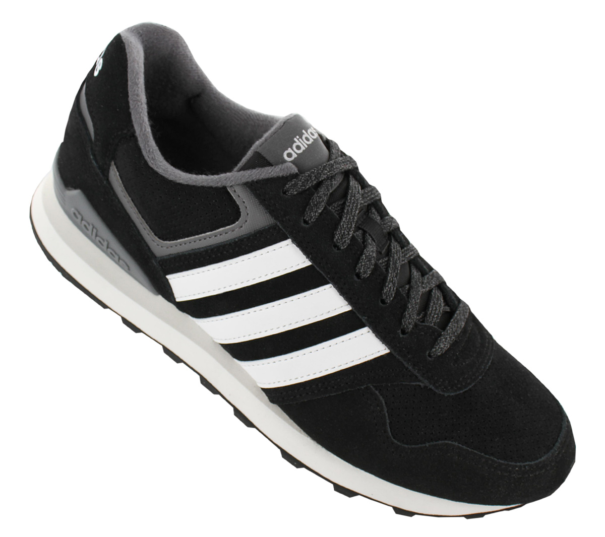 Adidas 10K Men s Sneakers Shoes Leather Black Trainers Zx BB9787 700 ... b30c91af5