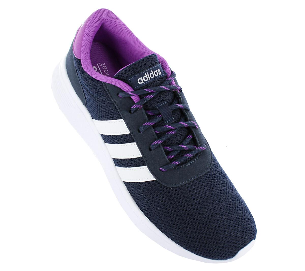 adidas Damen Sneaker Lite Racer W Schuhe Navy-Blau Turnschuhe Freizeit NEU 9833