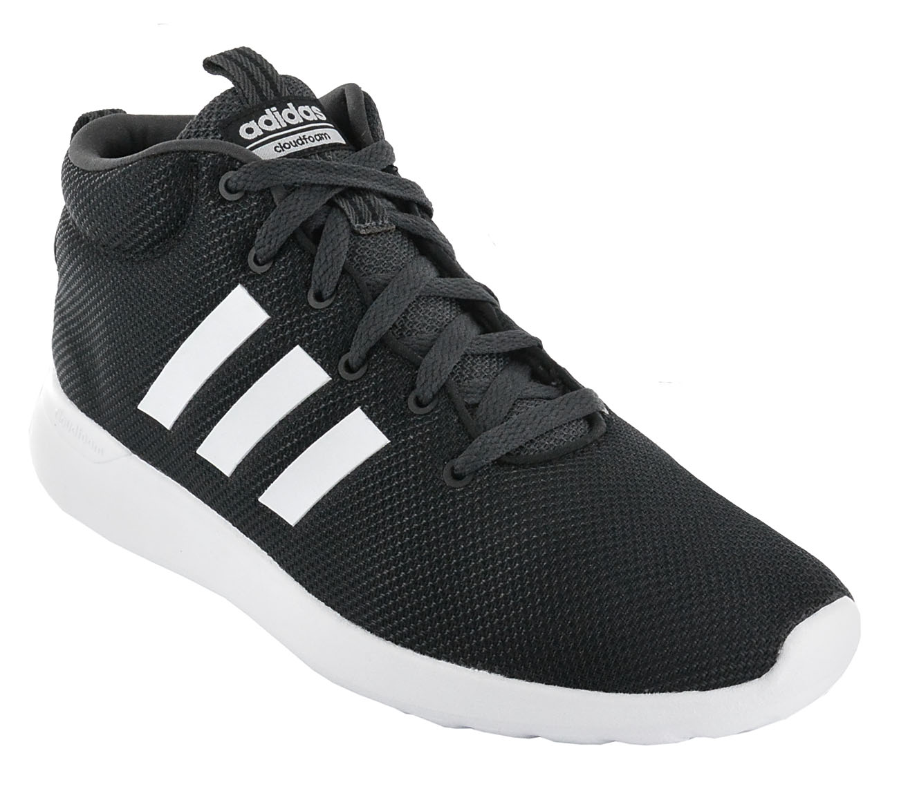 Details zu adidas Lite Racer Mid CF CloudFoam Schuhe Schwarz Herren Sneaker NEU BB9935