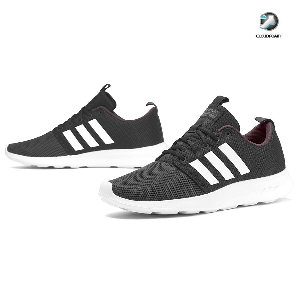 NEU adidas Swift Racer CF Cloudfoam Herren Schuhe Schwarz BB9939 SALE
