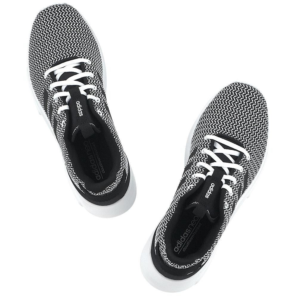 Adidas Racer TR CF cloadfoam zapatilla Herren Schuhe weiß Schwarz Neu