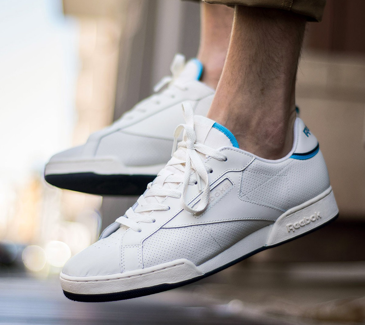 oben Reebok Classic Leather PP V41c9458FF37 Pearl White