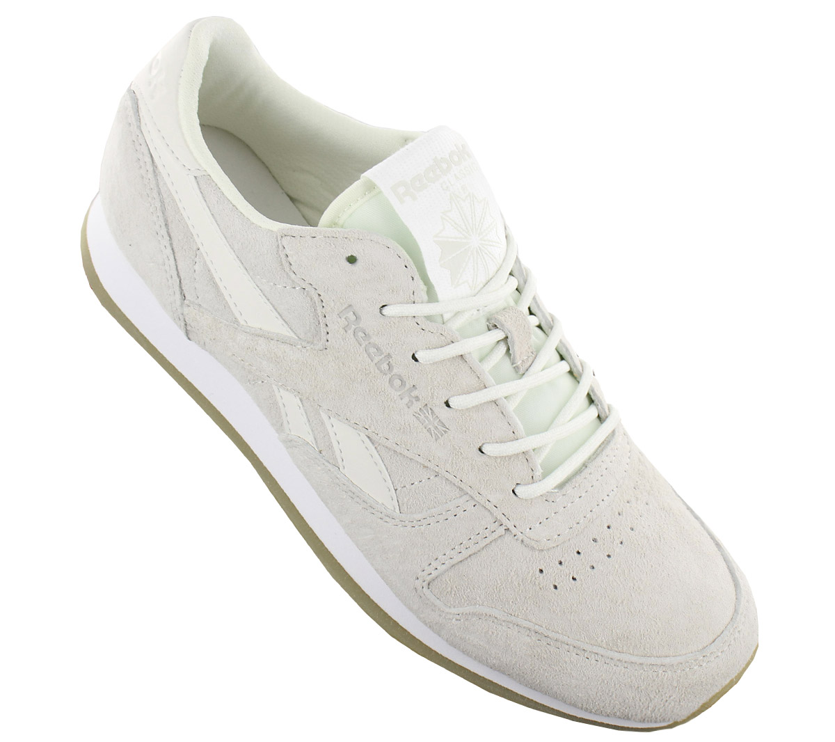 177923a345c96 Reebok Classic Leather Crepe Sail Away Ladies Sneaker Shoes Rbk Cl ...