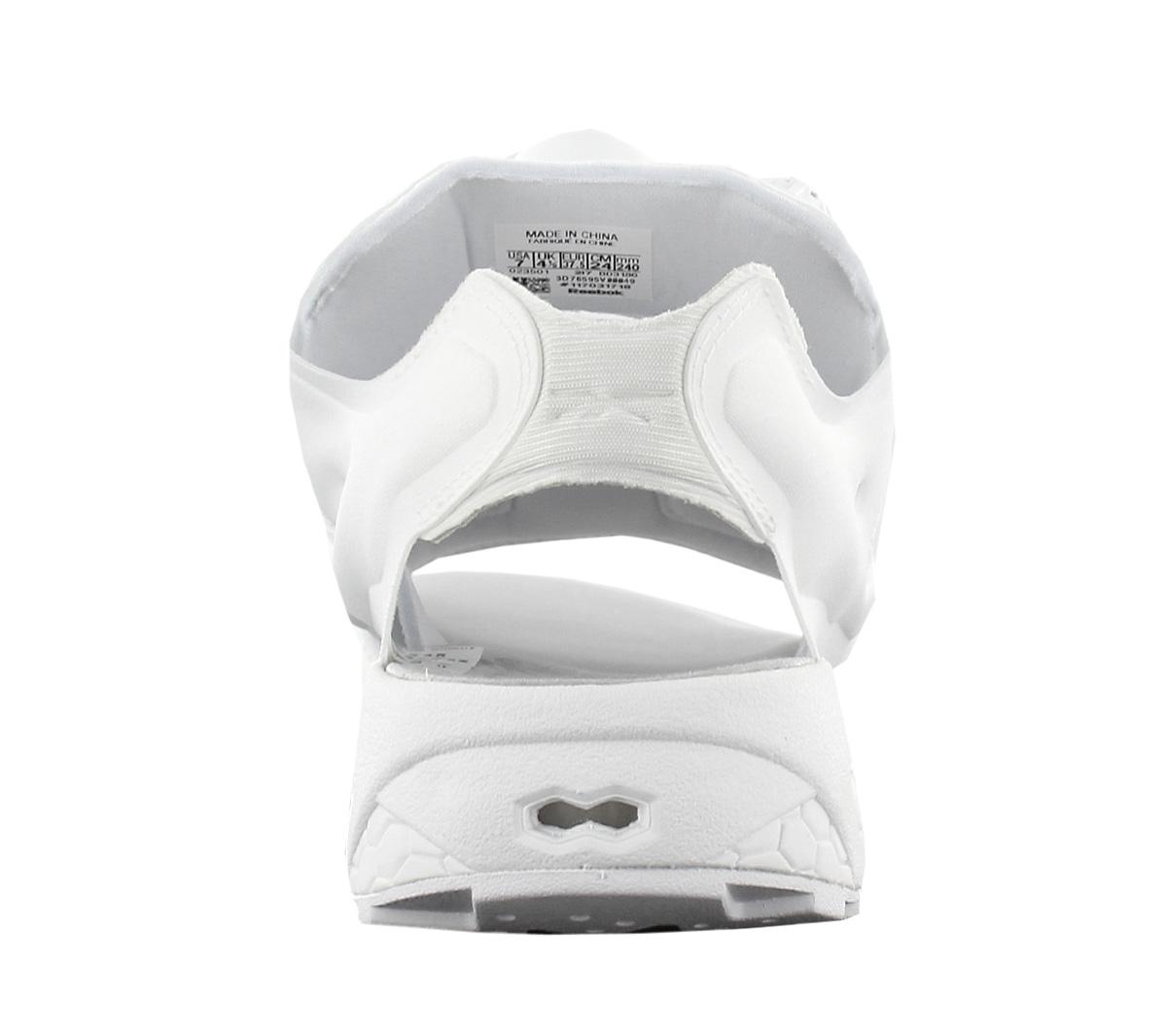 Reebok Instapump Fury Sandal Mag Damen Sandalen Sneaker Plateau BD3186 Weiß NEU