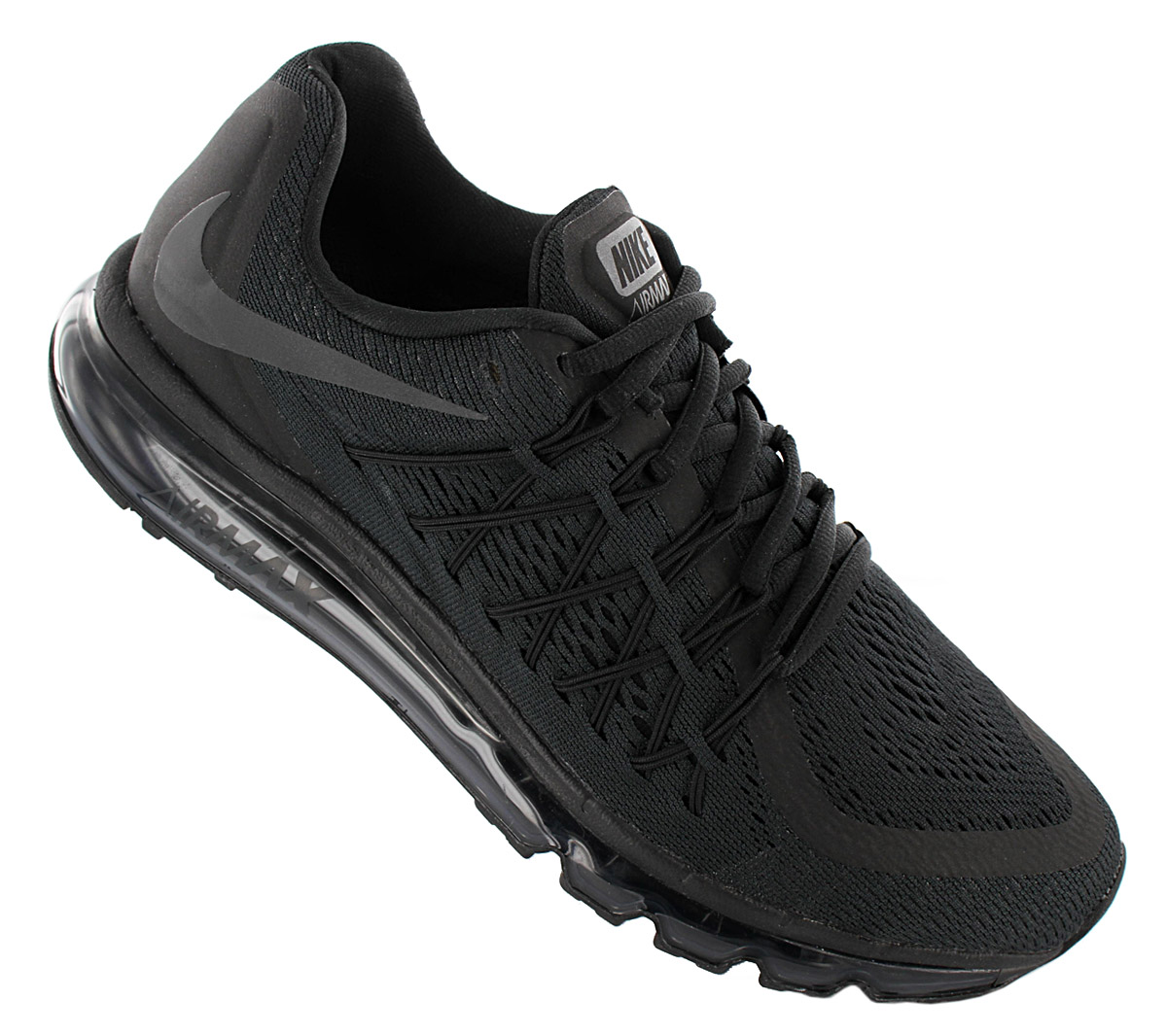 Details about Nike Air Max 2015 Mens Trainer BQ7548 002 Black Shoes Sneakers Sports Shoe show original title
