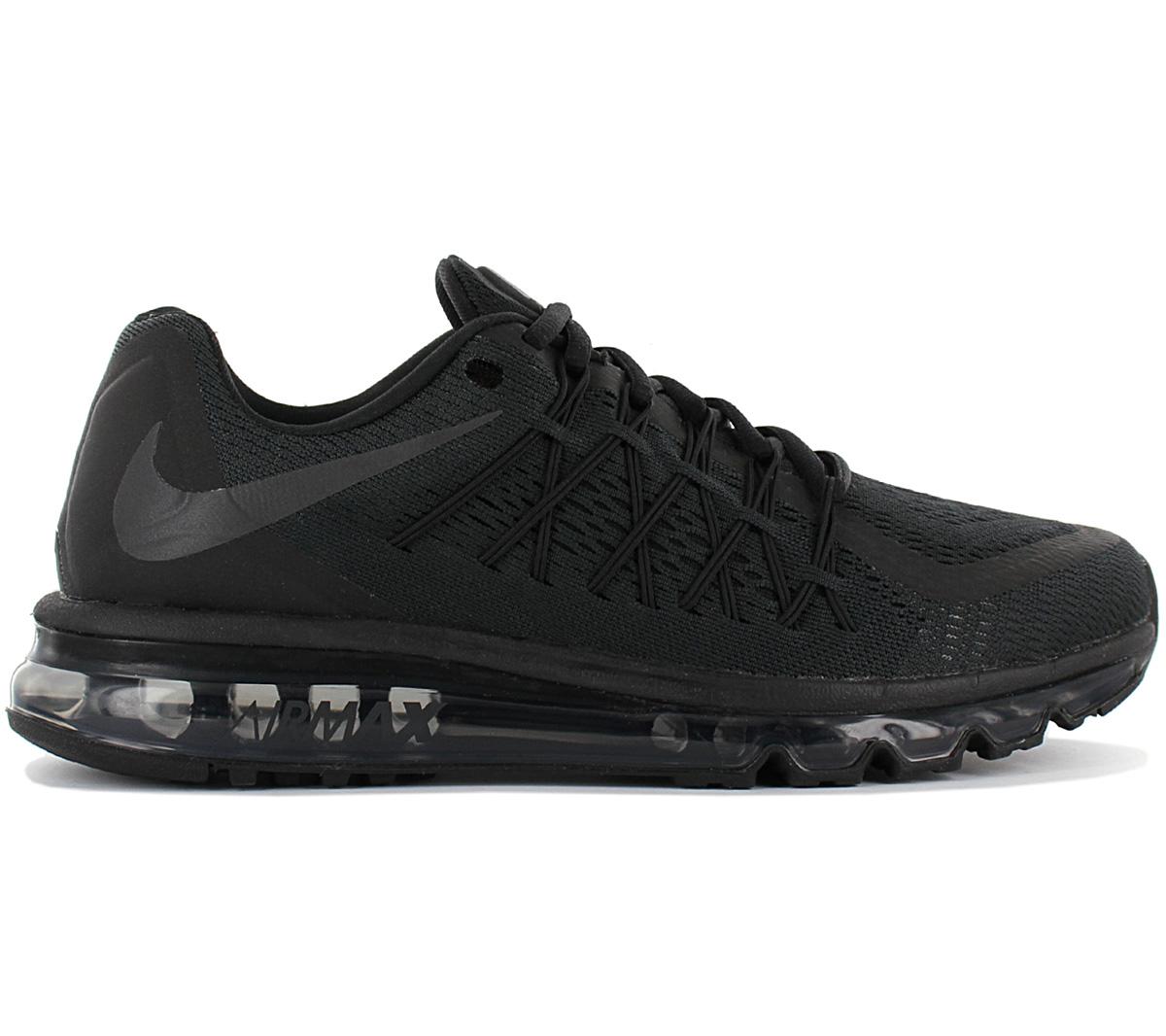 Details zu Nike Air Max 2015 Herren Sneaker BQ7548 002 Schwarz Schuhe Turnschuhe Sportschuh