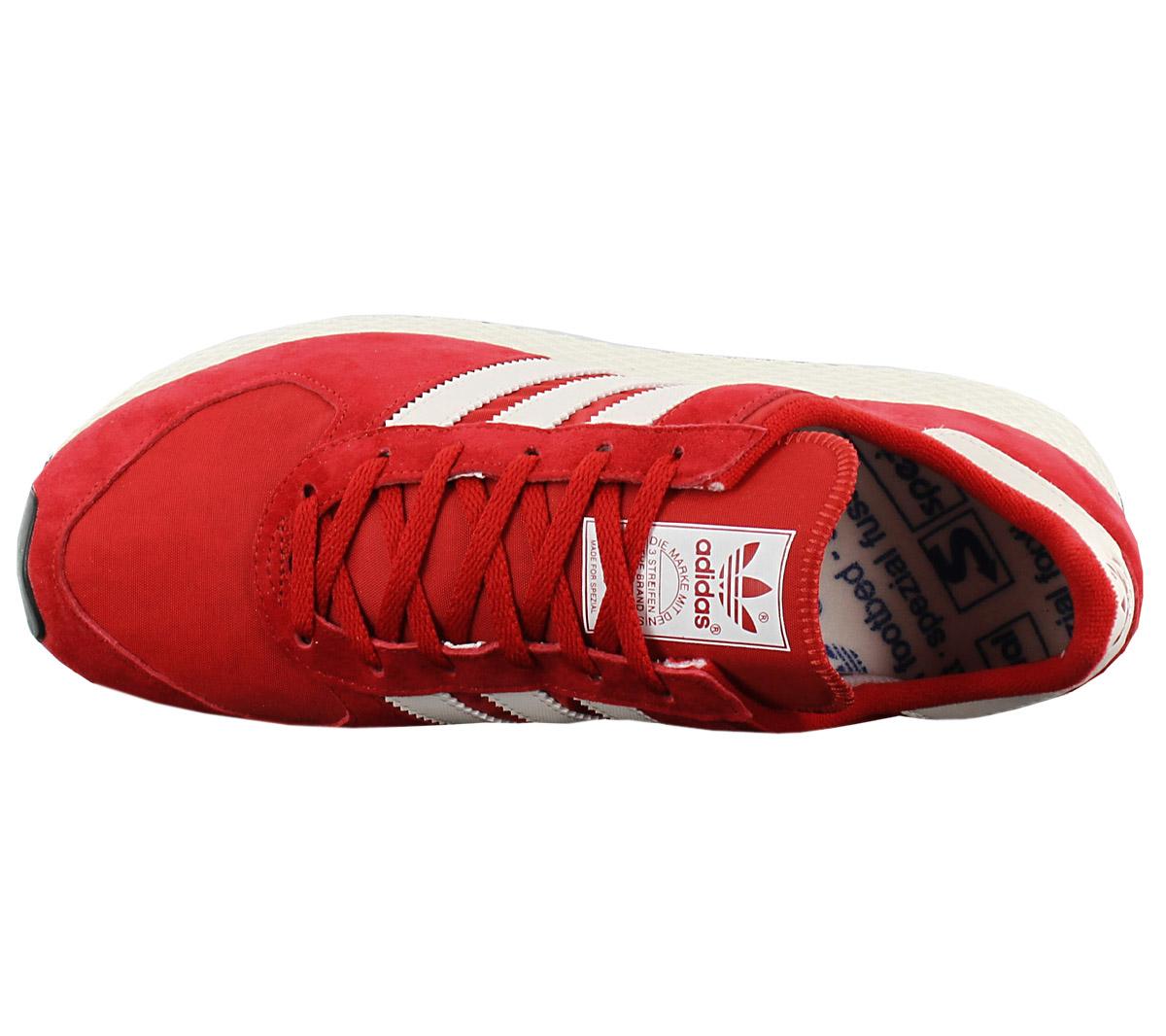 Adidas Originals Atlanta Spezial Herren Turnschuhe Rot Schuh Turnschuh ... Sofortige Lieferung