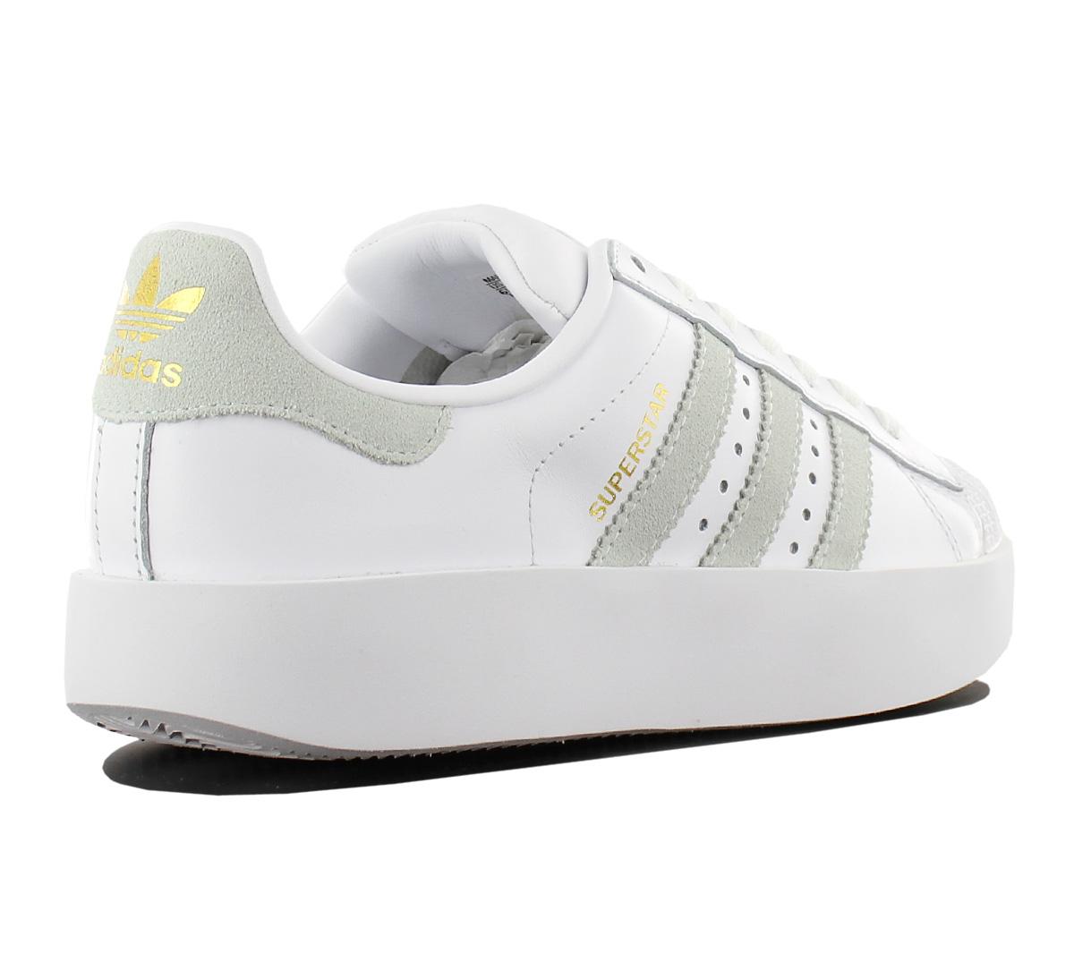 Adidas Originals Superstar Bold W Damen Sneaker Plateau Schuhe Weiss