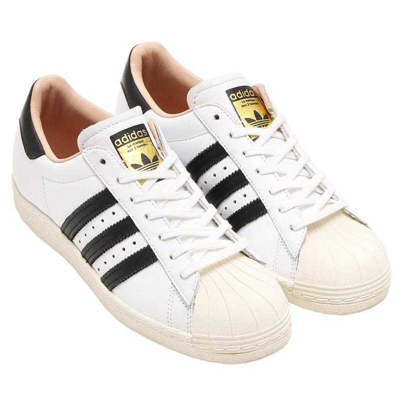 NEU adidas Originals Superstar 80s W Damen Schuhe Weiß-Schwarz BY2957 SALE