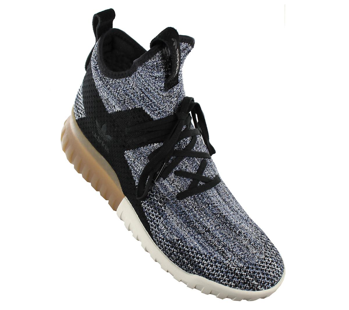 8ed3b6276d8e Adidas Tubular x Pk Primeknit Sneaker Men s Shoes Black Grey BY3145 ...