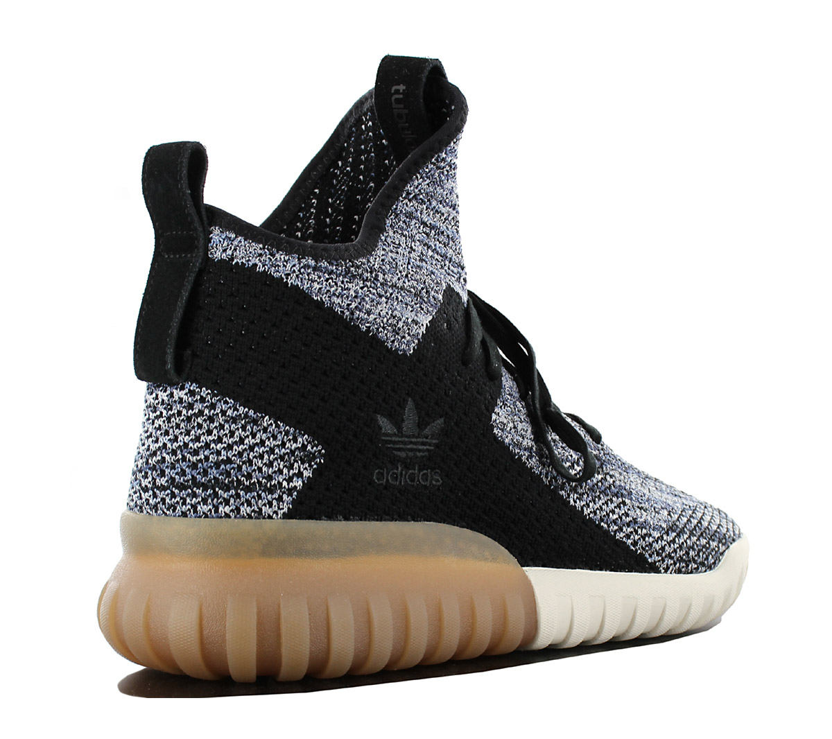 Details about Adidas Tubular x Pk Primeknit Sneaker Men's Shoes Black Grey BY3145 New
