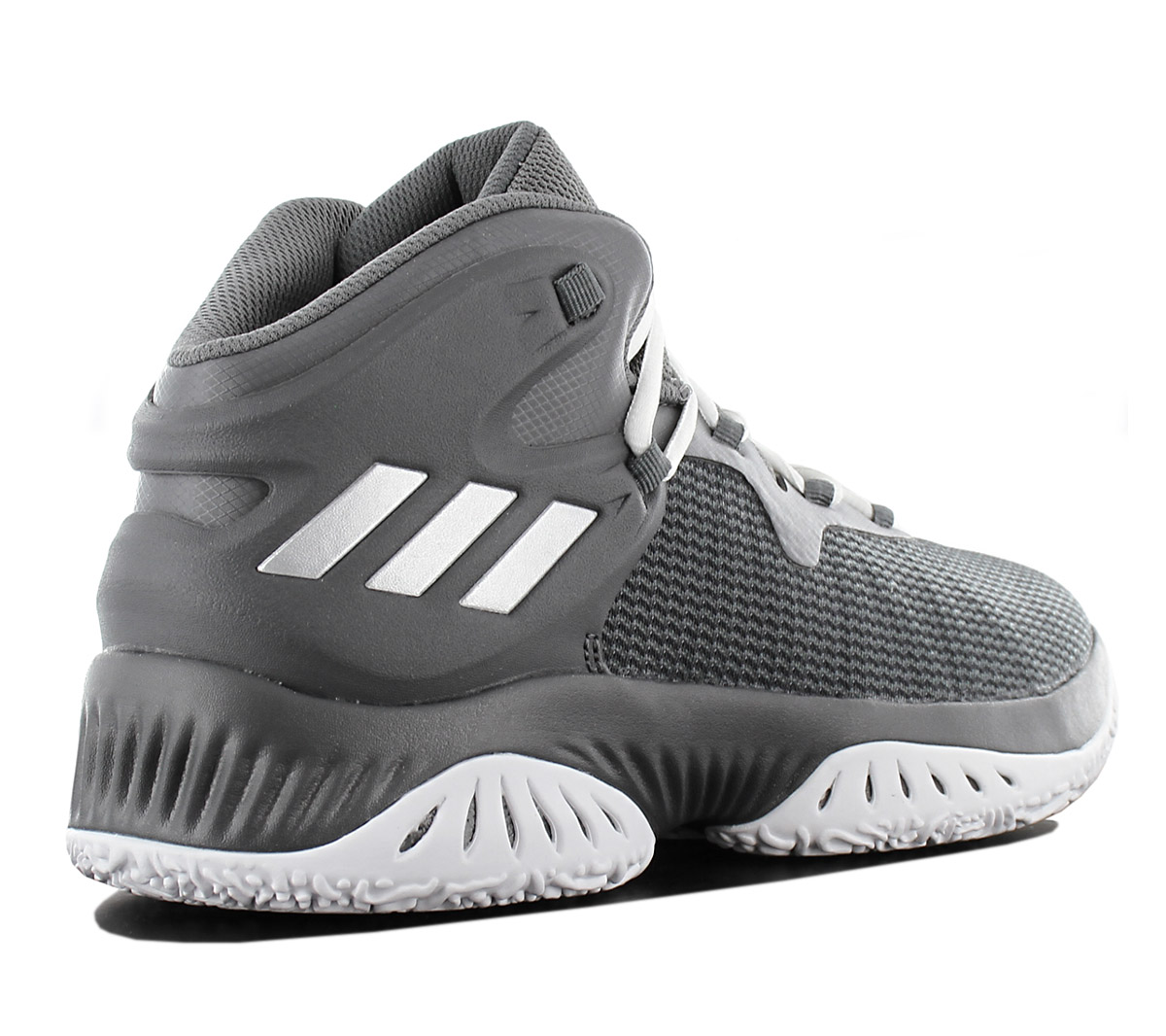 Adidas Explosive Bounce Men s Basketballshoe Basketball Shoes Grey ... cc332a335