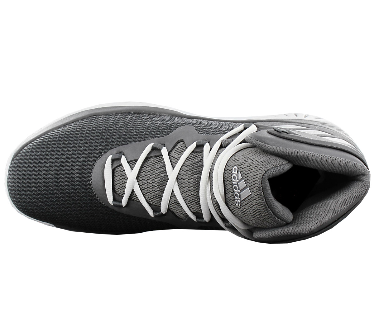Details zu adidas Explosive Bounce Herren Basketballschuhe Basketball Schuhe Grau BY3779