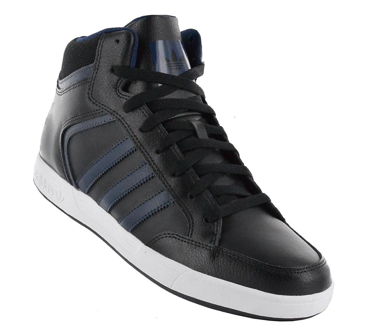 adidas originals mens varial mid leather skateboarding shoes nz
