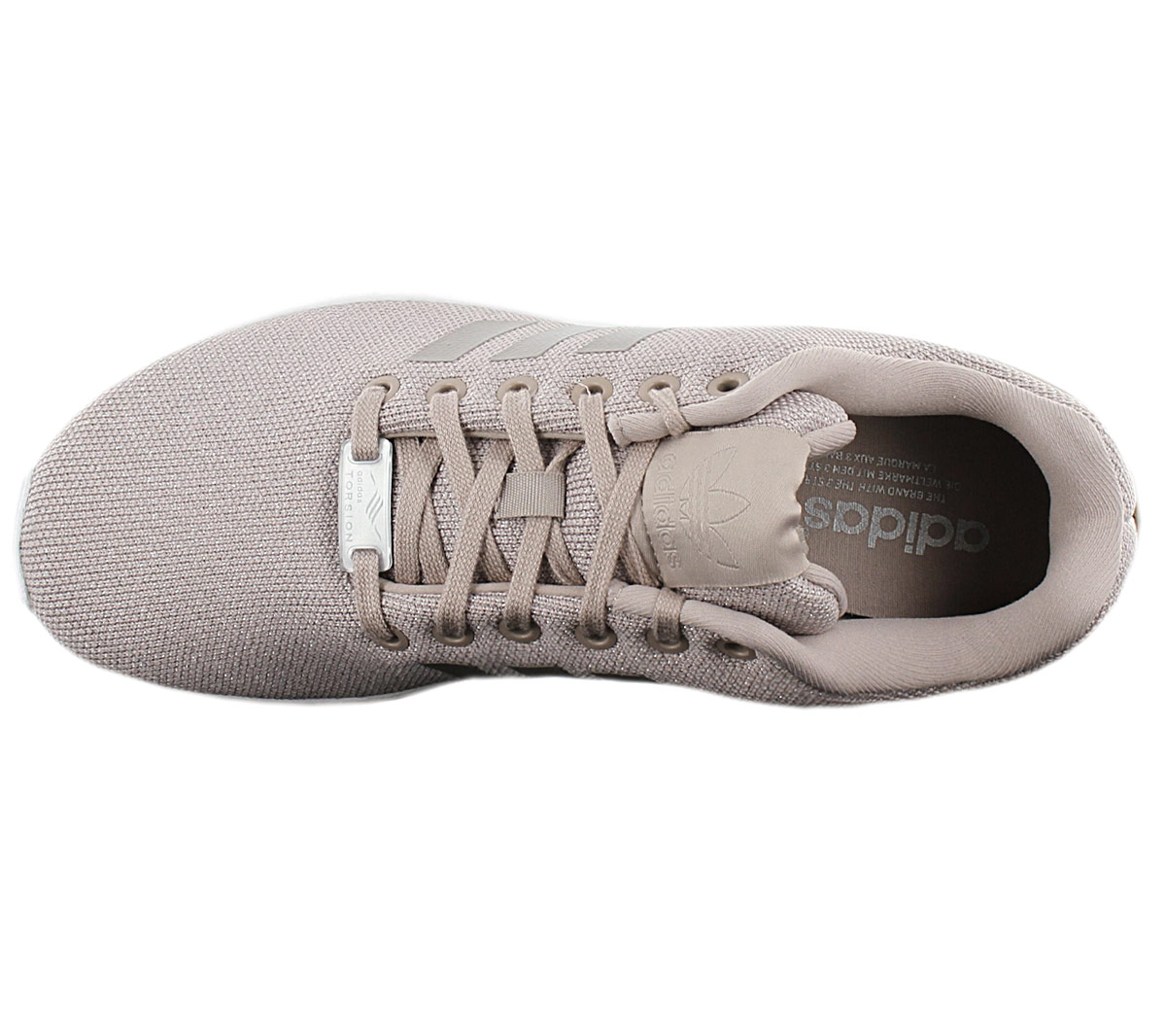 Details about Adidas Originals Zx Flux W Women's Sneaker BY9211 Brown Grey Shoes Sneakers New