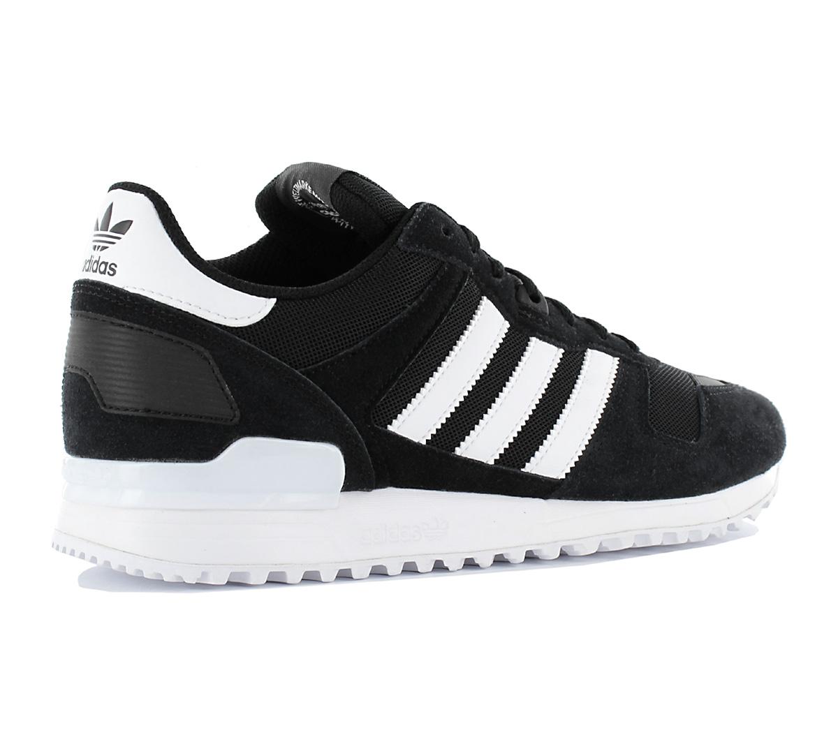 Adidas Originals zx 700 Leather Trainers zapatos de hombre negro zapatillas