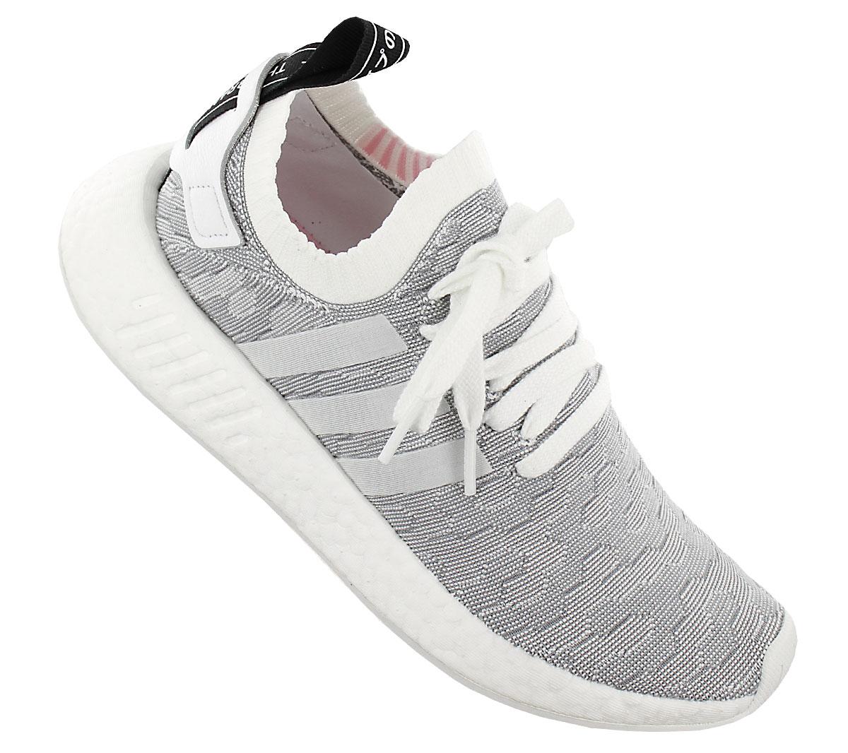 Details zu adidas Originals NMD R2 PK W Primeknit Damen Sneaker Schuhe Turnschuhe R1 BY9520