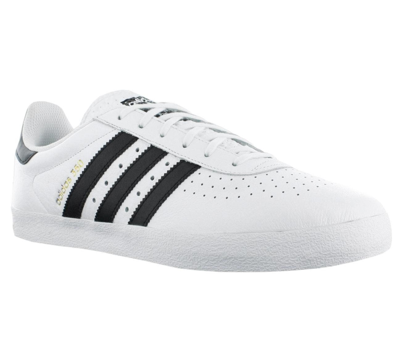 NEU adidas Originals 350 Herren Schuhe Weiß-Schwarz BY9762 SALE
