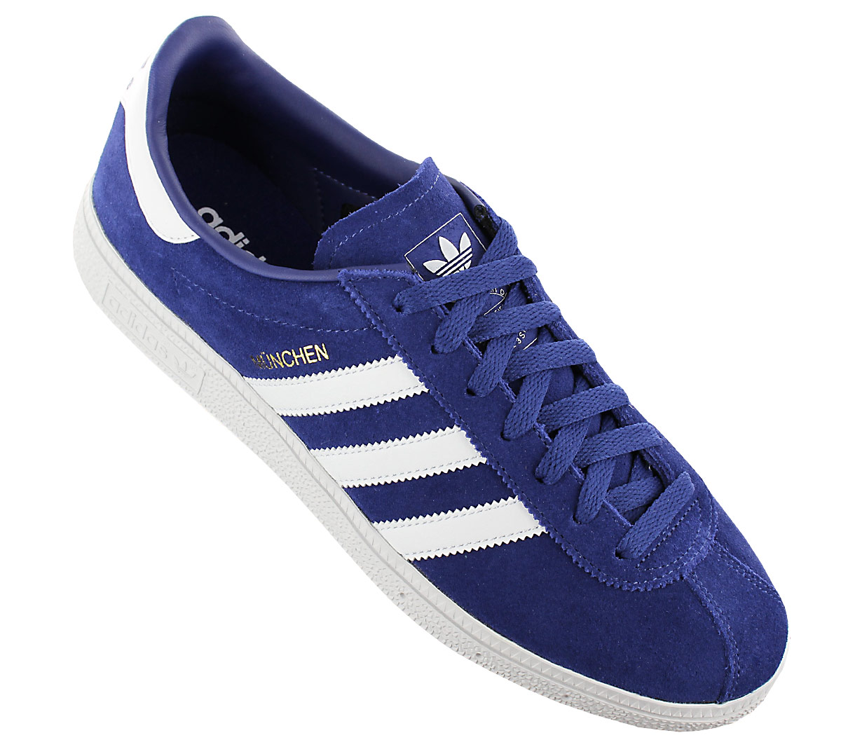 adidas Originals München BY9787 Chaussures Homme Sneaker Baskets Bleu