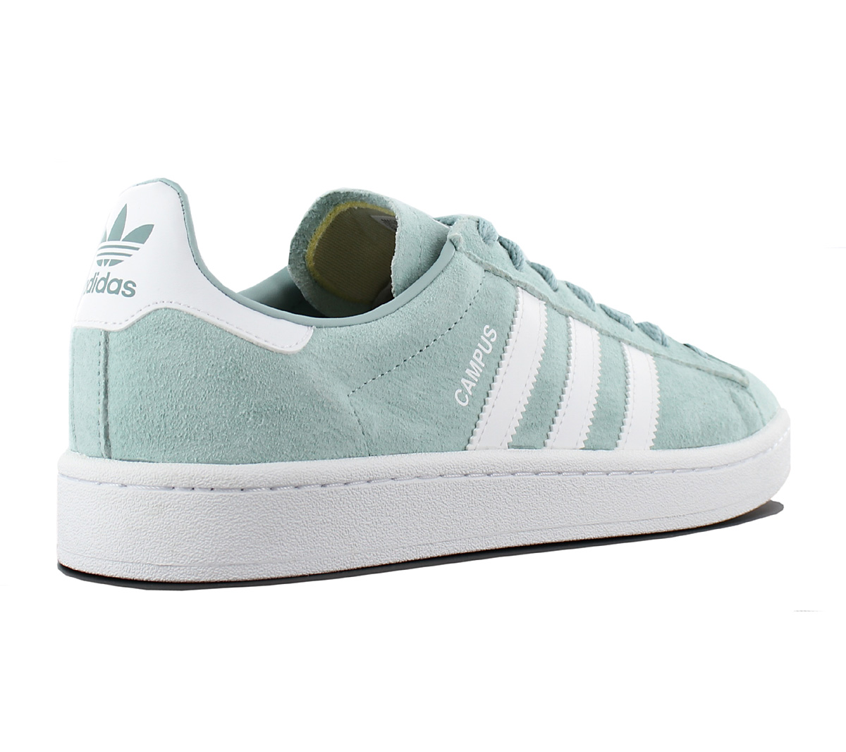 e18768caf82 NEW adidas Campus Leather BZ0082 Mens Shoes Trainers Sneakers SALE ...