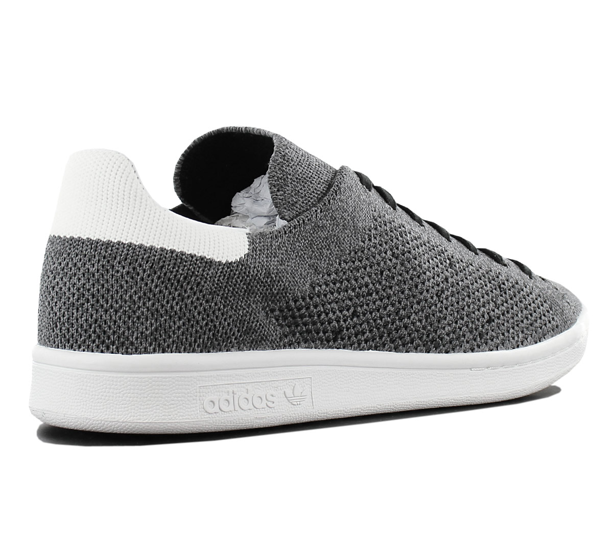 separation shoes abc0d 596b6 Adidas Originals Stan Smith Pk Primeknit Men s Sneakers Shoes Grey ...