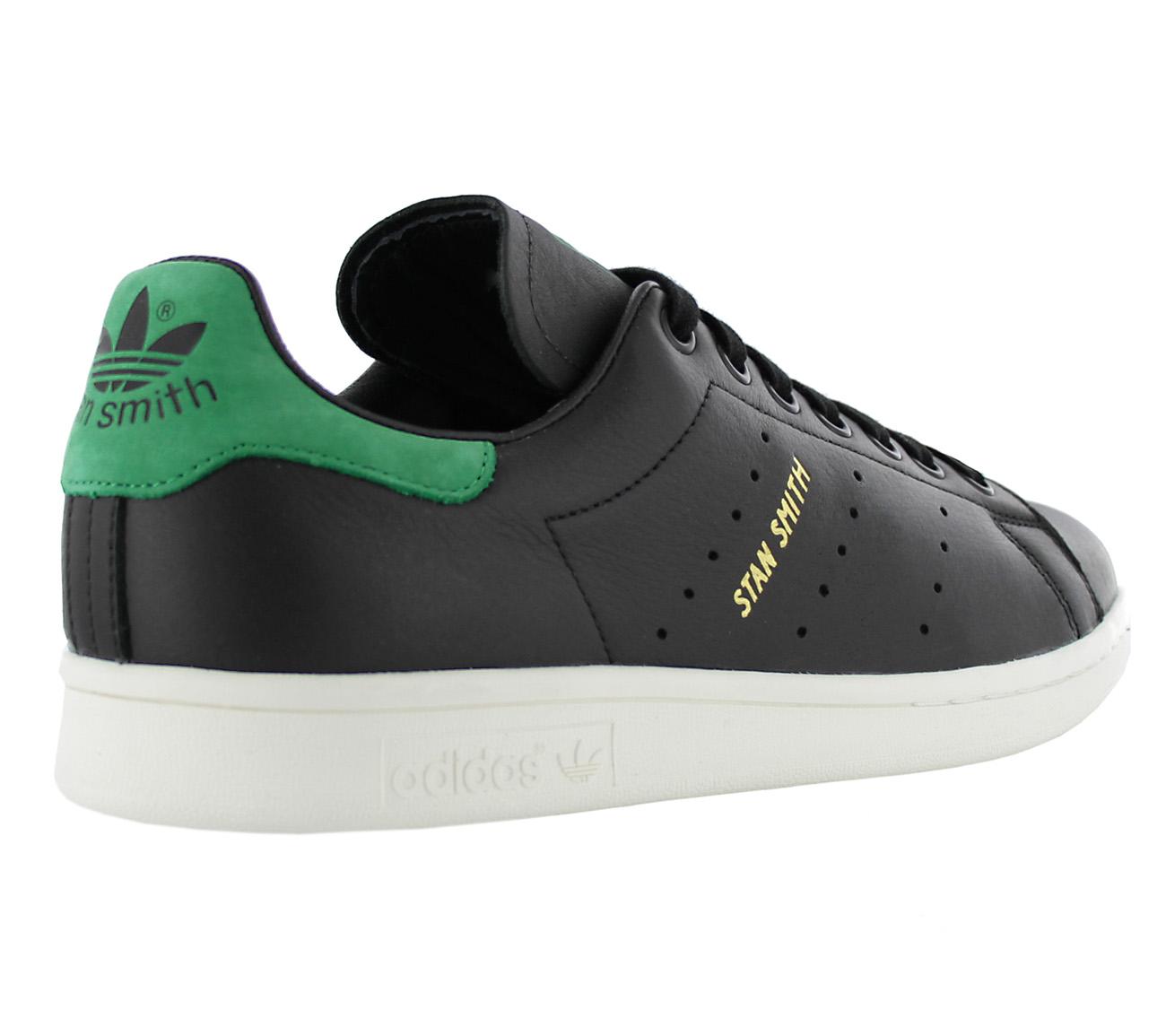 Adidas Originals Stan Smith Cuero Damas Botas Negro Sneaker Bz0458 Special Summer Sale Women's Shoes Clothing, Shoes & Accessories