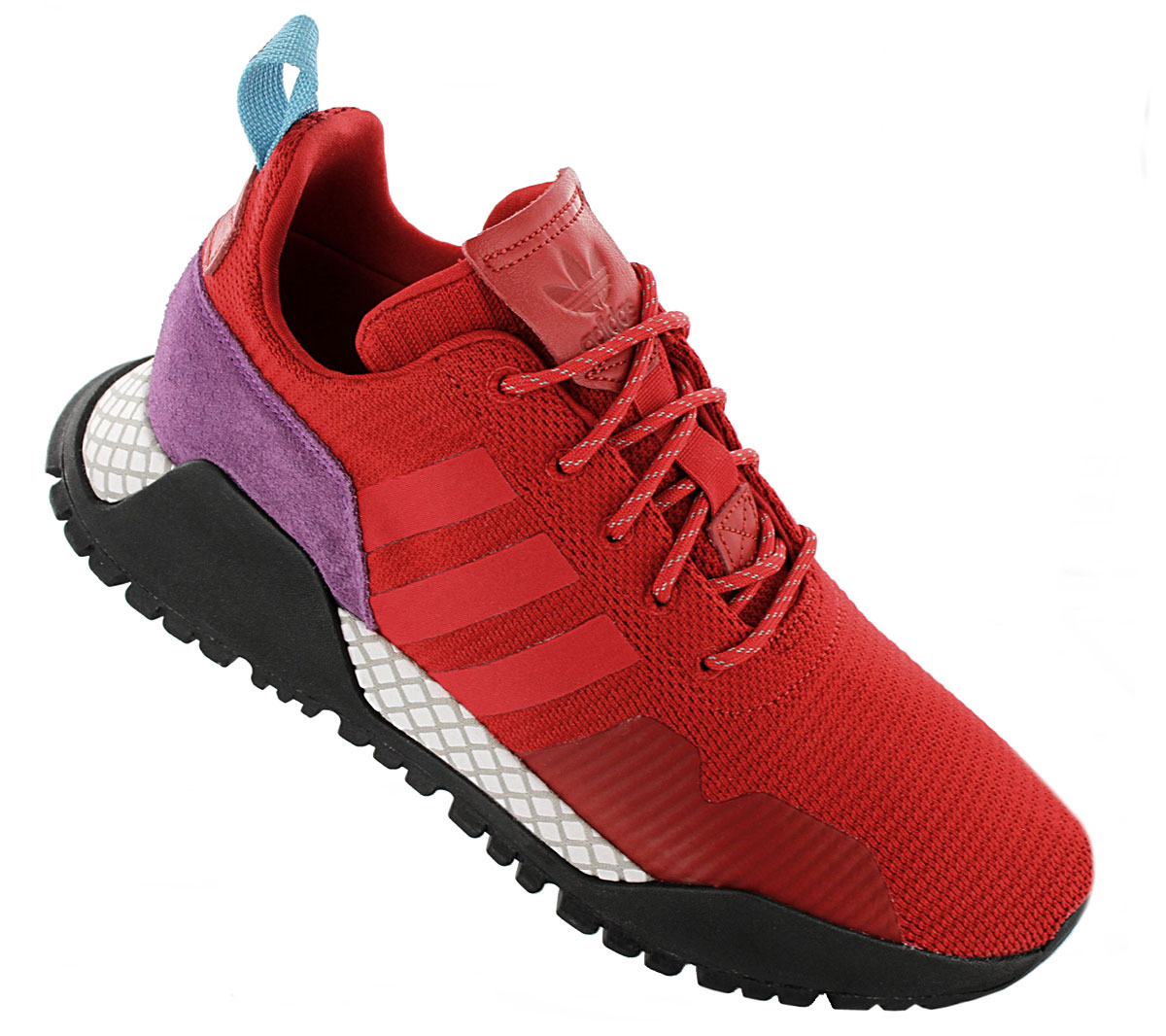 Details about Adidas Originals F 1.4 Pk Primeknit Sneaker Red BZ0614 Sneakers New