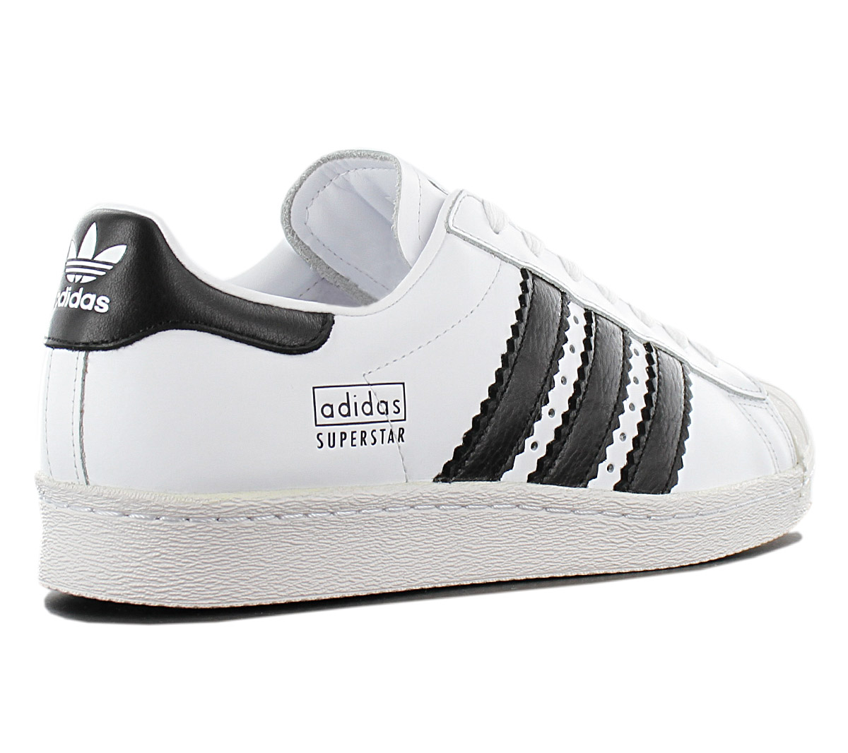 buy online 34a9f 29de3 Adidas Originals Superstar 80s Men s Sneakers Shoes Cg6496 Leather ...