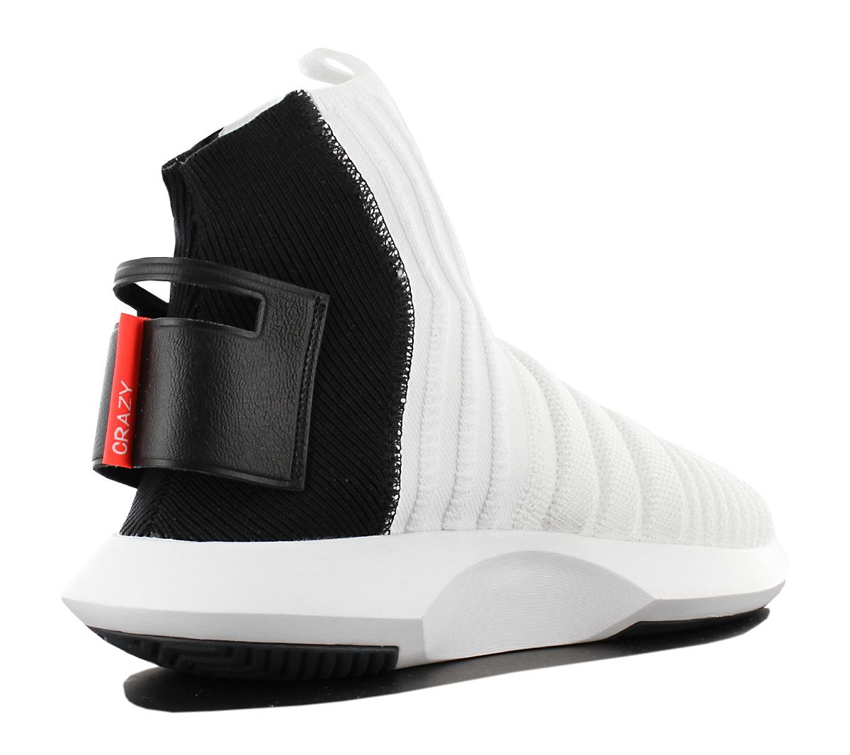 hot sale online bcc9b 77c5b Adidas Crazy 1 Adv Sock Pk Primeknit Mens Sneakers Basketbal