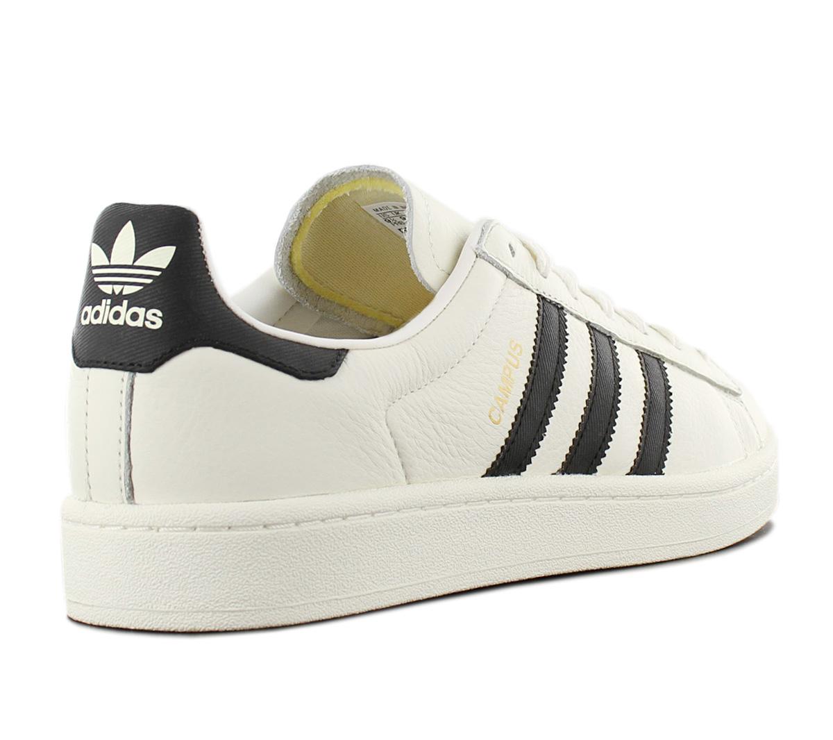 Details about Adidas Originals Campus Men's Sneaker CQ2070 Leather White Shoes Retro Trainers
