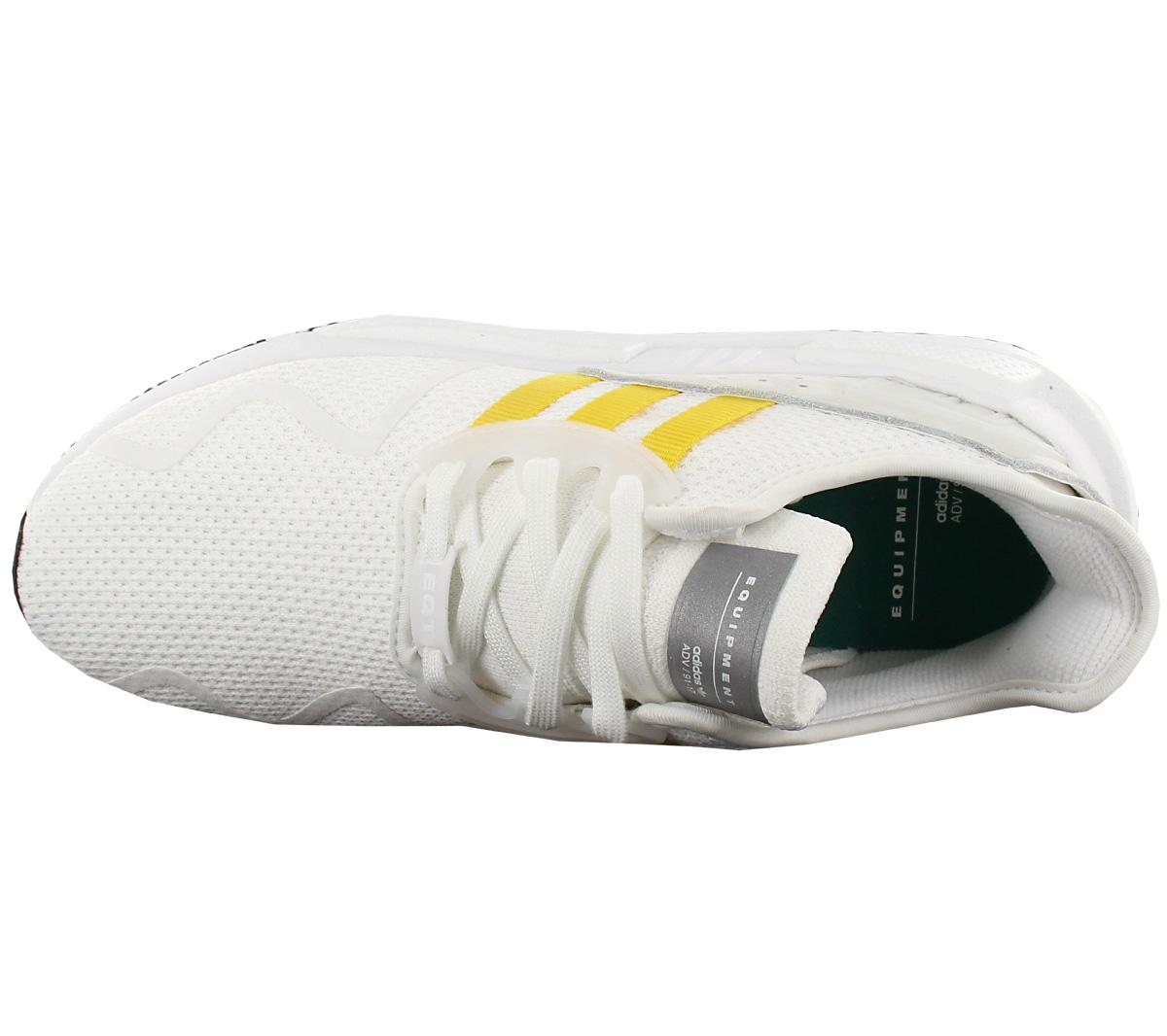 Details zu NEU adidas Originals EQT Equipment Cushion ADV Herren Schuhe Weiß Gelb CQ2375 SA