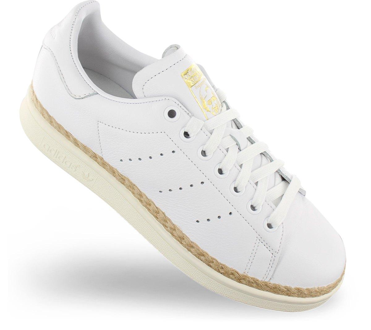 Details zu adidas Originals Stan Smith New Bold W Damen Sneaker CQ2439 Weiß Schuh Turnschuh