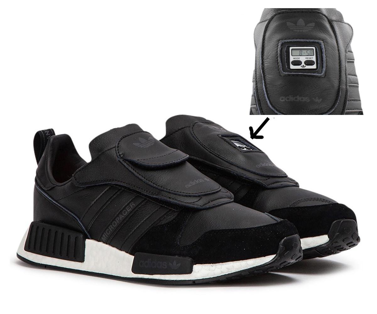 "Triple Black/"" NEU Sneaker adidas Micropacer x R1 /""Never Made Art EE3625"