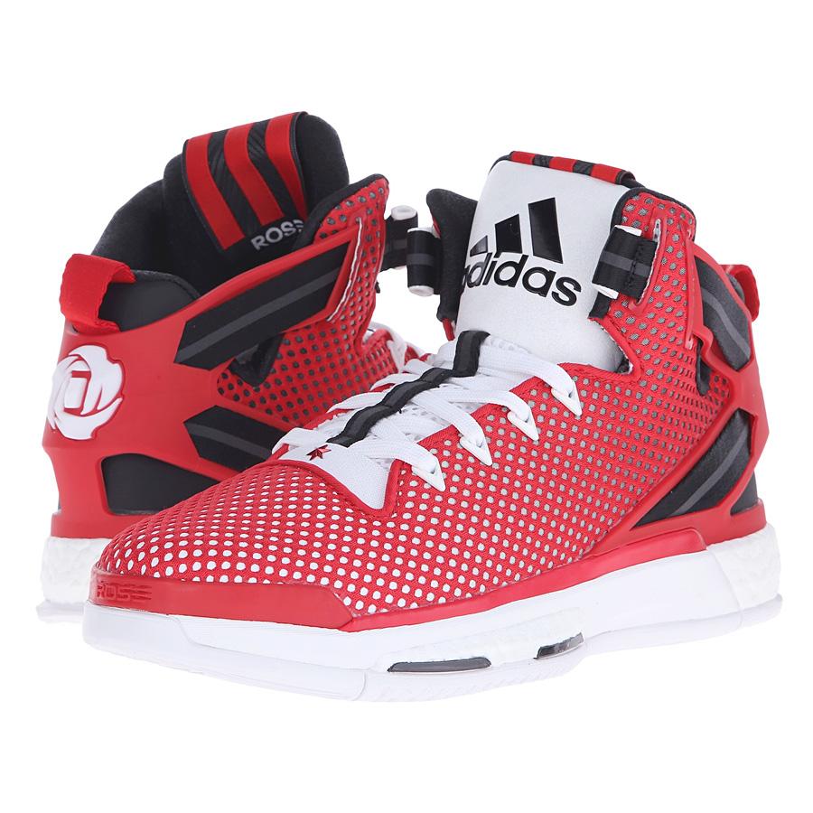 NEU adidas D Rot Rose 6 Boost Herren Basketballschuhe Rot D F37129 SALE cf812c