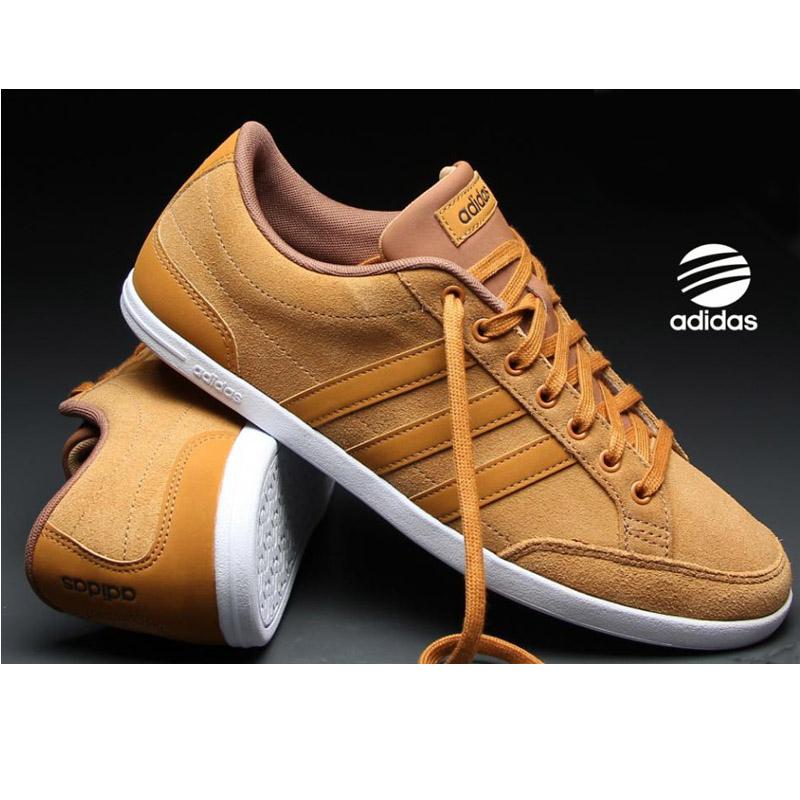 basket cuir homme marron adidas