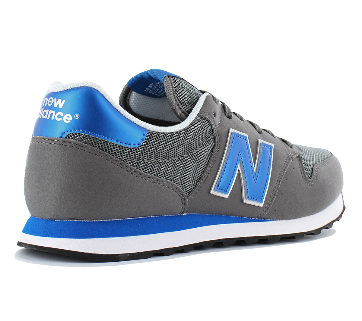 Details about New Balance Classics 500 Men's Sneakers Shoes Grey Gm500ksr Gm500 Trainers