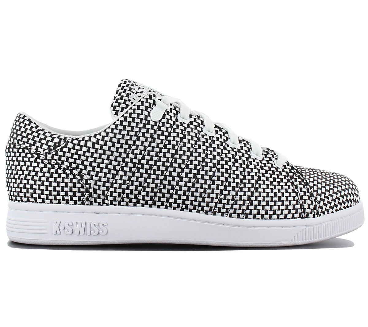5e53b83fe6c K-Swiss Lozan 3 Tt Tongue Twister Woven Men's Sneakers Shoes Textile ...