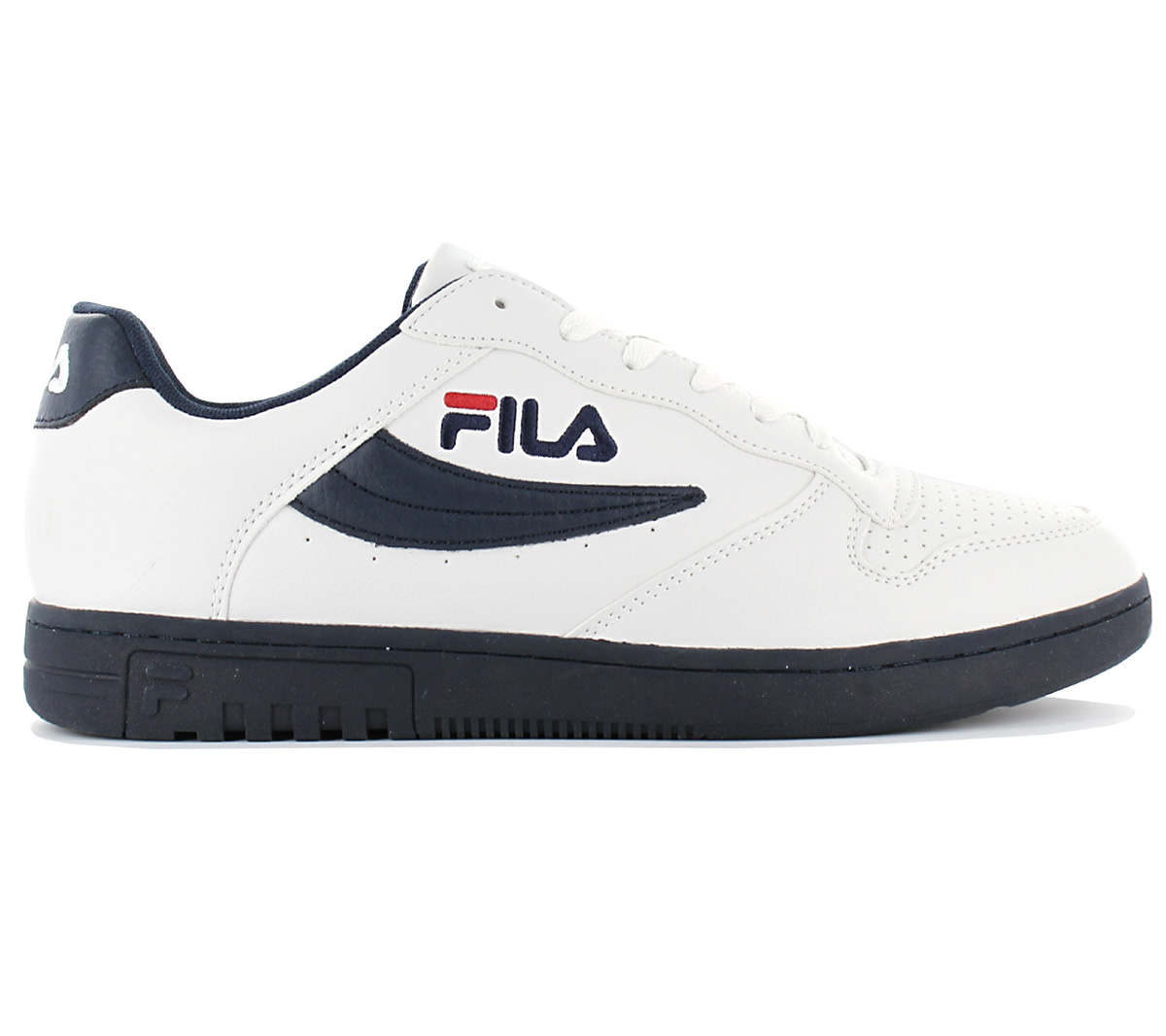 1a64d44ff869 Fila FX-100 Low Mens Sneaker White Shoes Trainers Sport Shoes ...