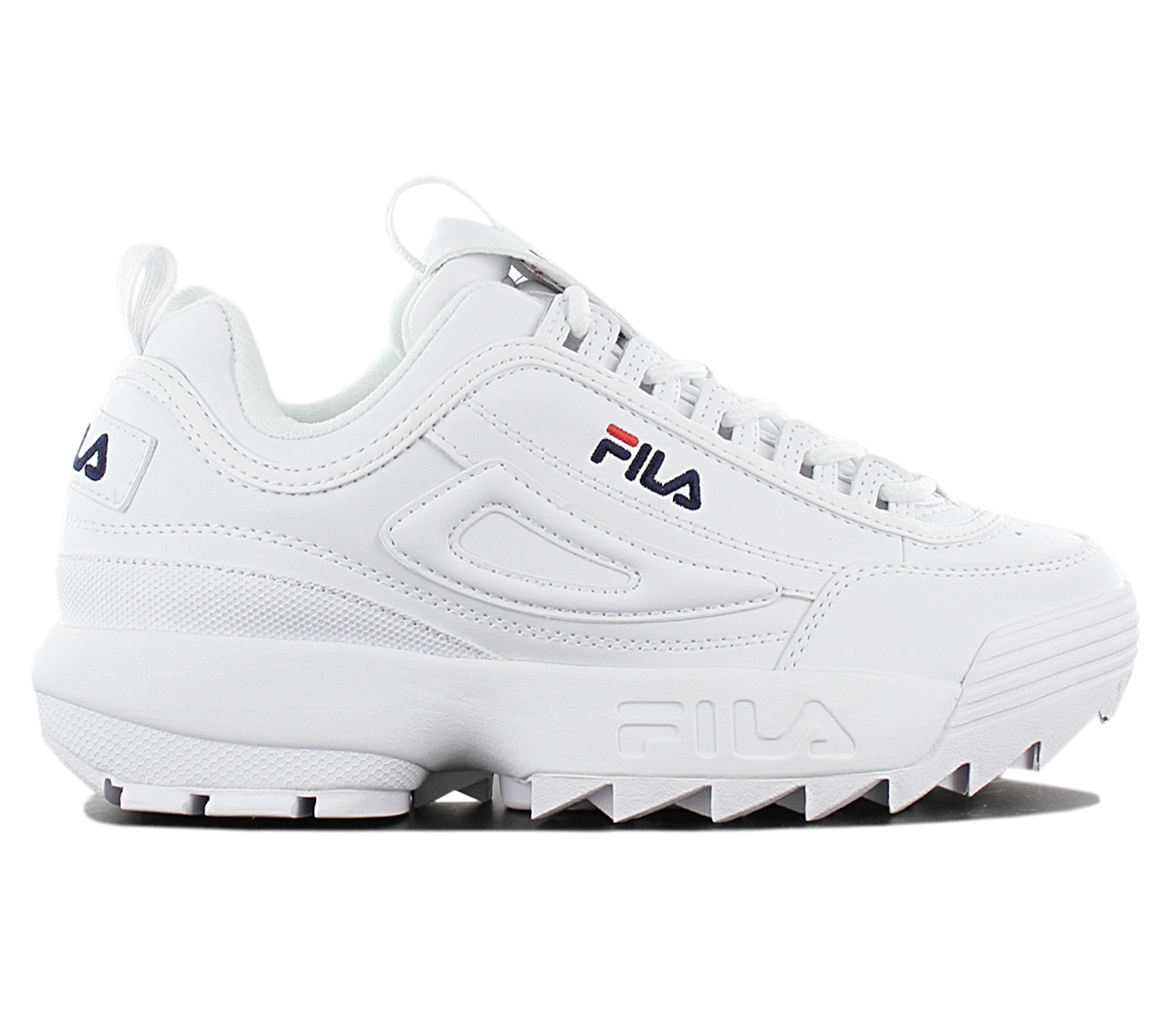 Details about Fila Disruptor Low W Women's Sneaker Shoes 1010302.1FG White Casual Trainers