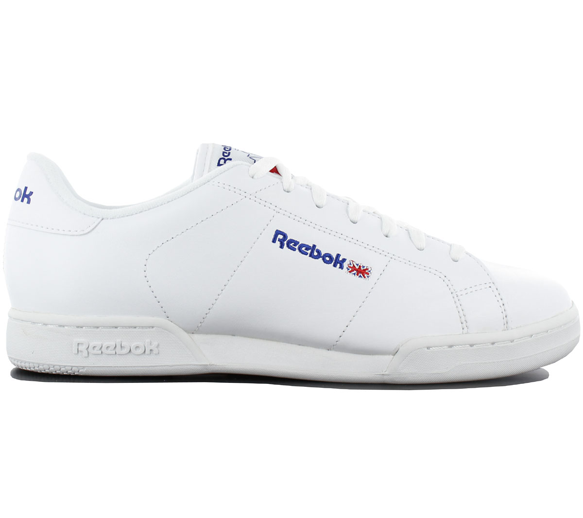 9663695752605 Reebok Classic Npc II Trainers Shoes Leather White Sneakers Leisure ...