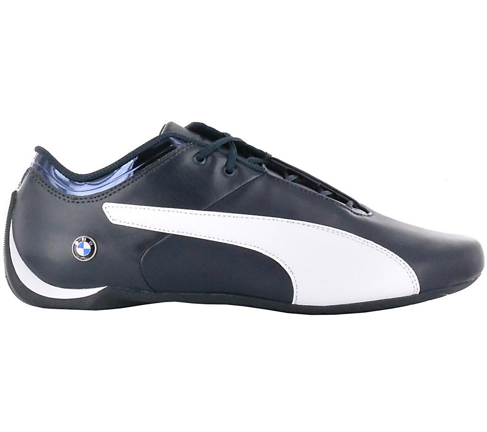 Puma BMW Future Cat Ms Sneaker Men Motorsport Shoes Leather Blue New ... 211997862