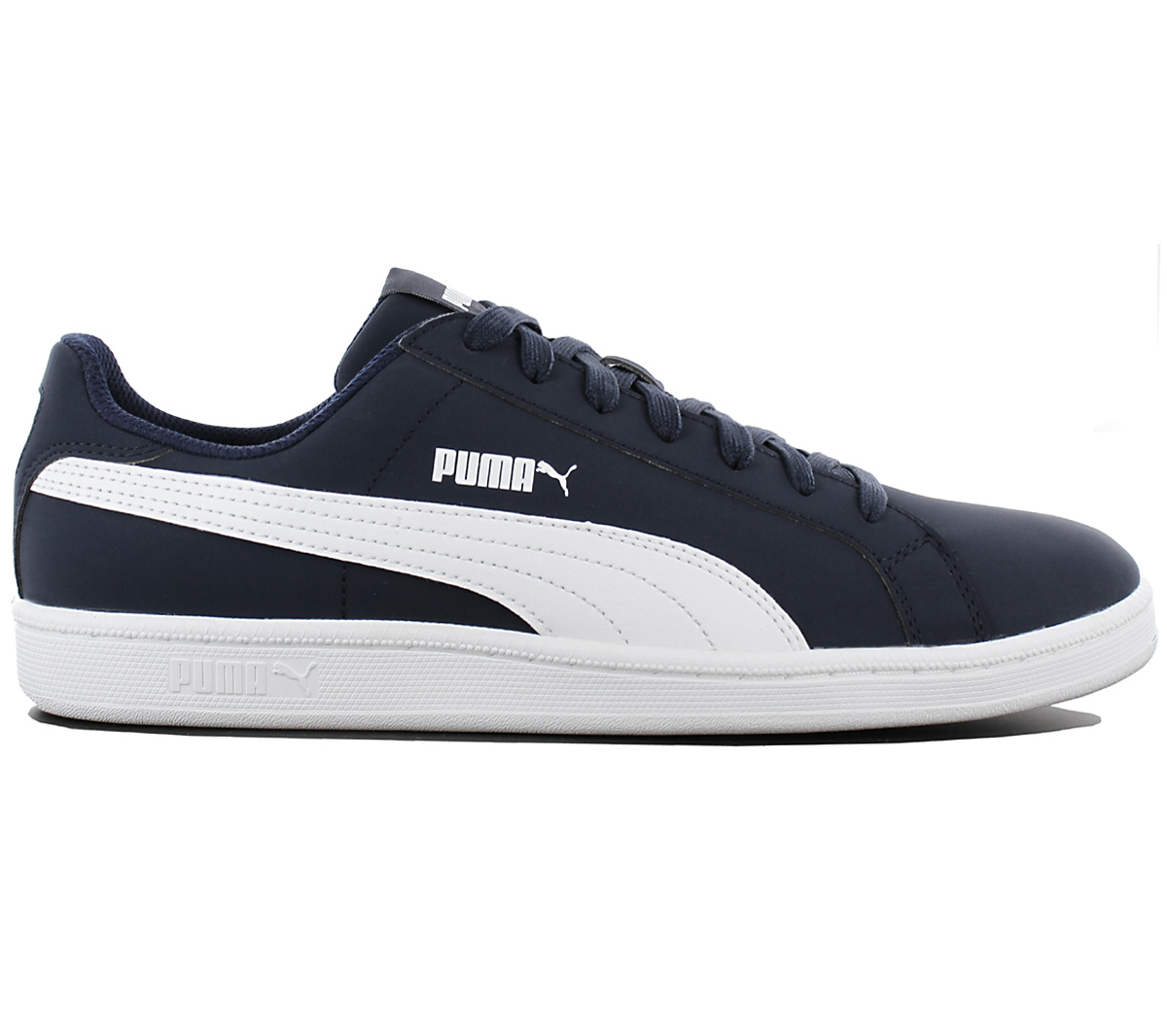 fdd432ef2866 Puma Smash Buck Men s Sneakers Shoes Leisure Blue Trainers 356753-01 ...
