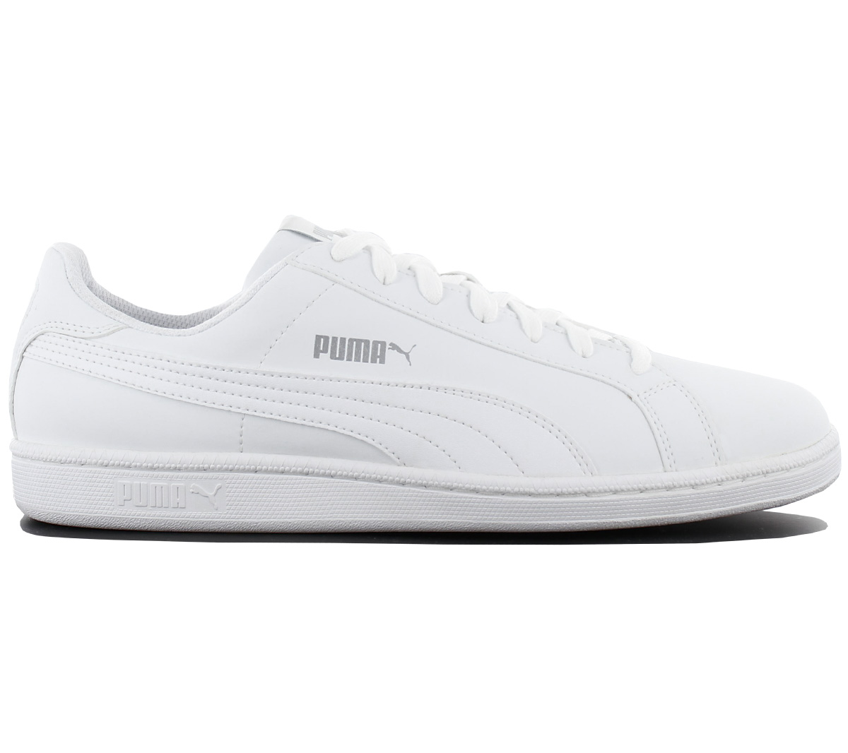 Puma Smash Buck Men s Sneakers Shoes Leisure White Sneakers 356753 ... 96b81a035