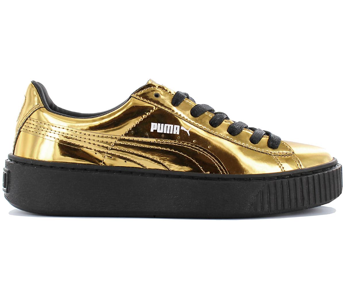 Puma Basket Platform Damen Sneaker Plateau Schuhe Freizeit Turnschuhe hohe Sohle